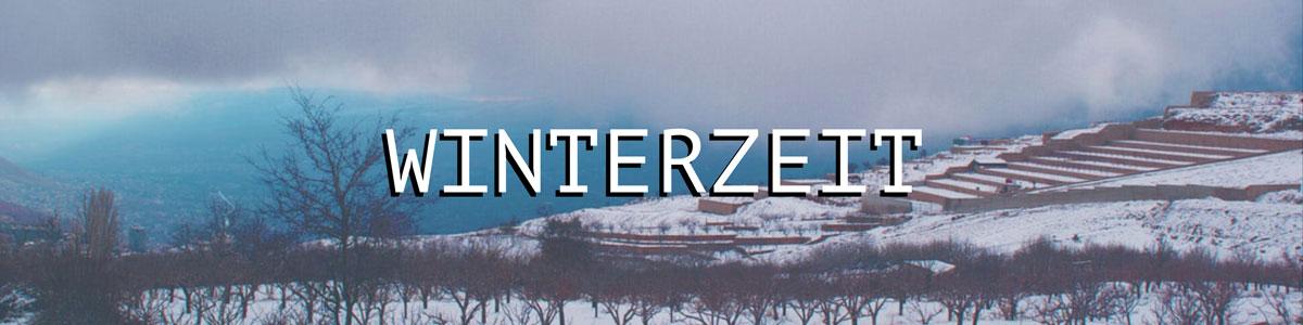 Winterzeit bei negroyblanco